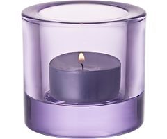 Iittala Kivi Teelichthalter lavendel 6cm