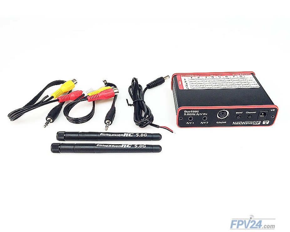 ImmersionRC Duo5800 V4.2 5.8GHz Diversity Receiver Race Edition - Pic 1