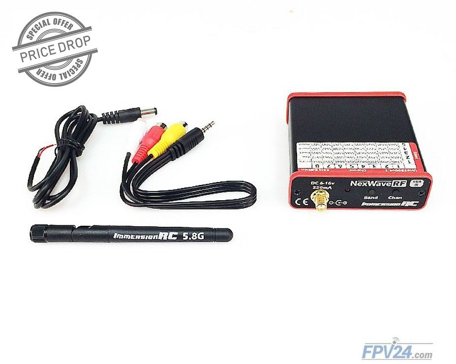 ImmersionRC Uno5800 V4.1 5.8GHz A/V Receiver Race Edition - Pic 1