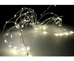 Lights4Christmas LED Bündellichterkette 100 Micro Lights 1m