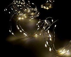 Lights4Christmas LED Bündellichterkette 200 Micro Lights 2m