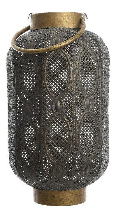 Kaemingk Laterne mit Griff 24 x 47cm Eisen grau - Pic 1