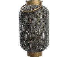 Kaemingk Laterne mit Griff 24 x 47cm Eisen grau