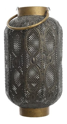 Kaemingk Laterne mit Griff 11 x 37cm Eisen grau