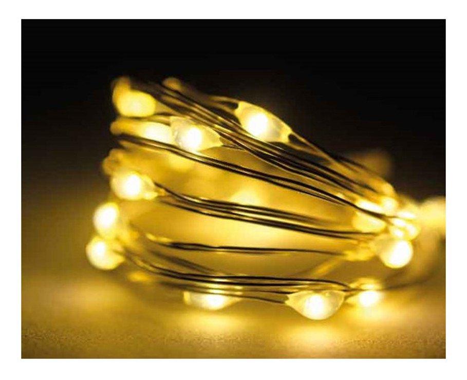 Kaemingk LED Strang Micro 40 LED batteriebetrieben 1,95m - Pic 1