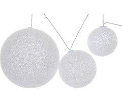 Kaemingk Leuchtkugeln EVA 3er Set LED warmweiß außen