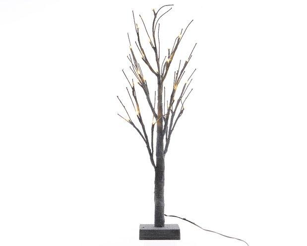 Kaemingk LED Baum 48 LED warmweiß außen 125cm grau