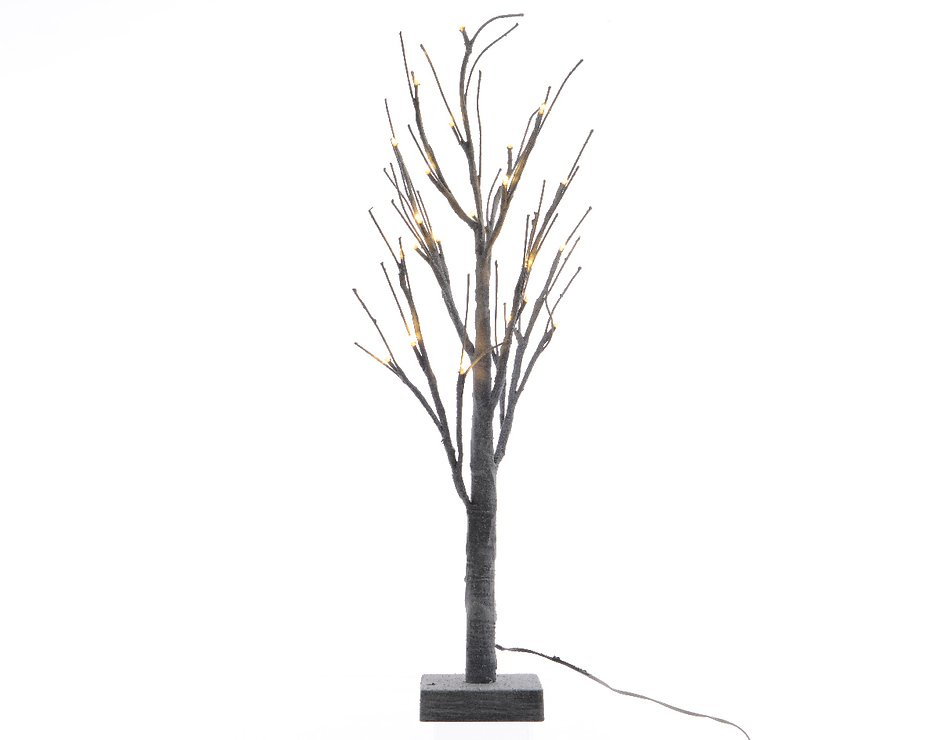 Kaemingk LED Baum 96 LED warmweiß außen 180cm grau - Pic 1