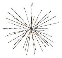 Kaemingk Leuchtstern Polarstern 160 LED Blinkfunktion 70cm außen schwarz
