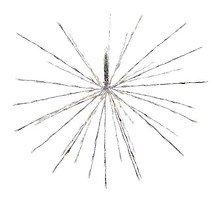 Kaemingk Leuchtstern Polarstern 160 LED Blinkfunktion 70cm außen silber