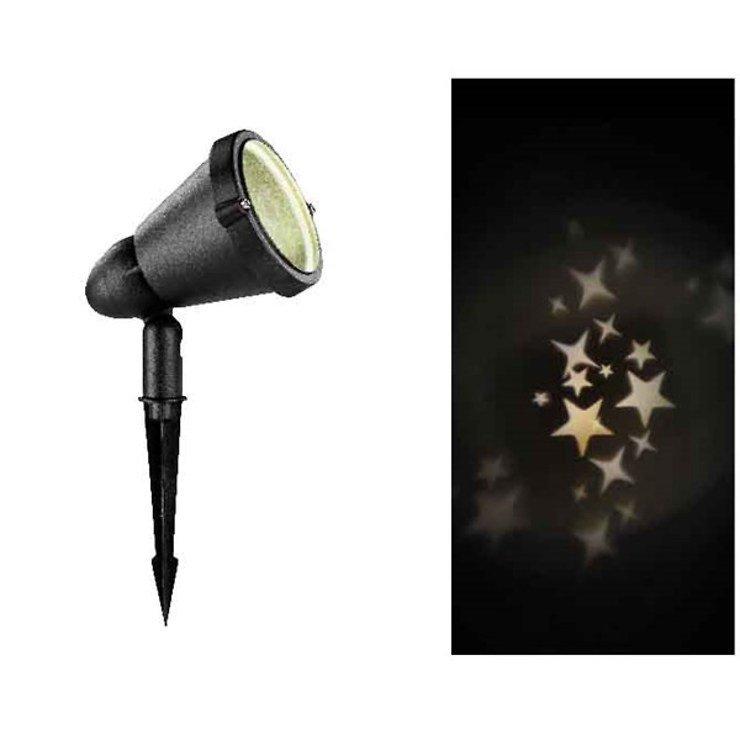 Kaemingk LED Hauswand Projektor Sterne mit Timer außen - Pic 1