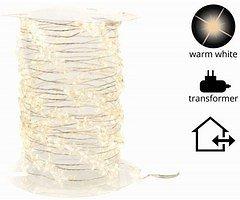 Kaemingk Lichterkette Sterne 120 Micro LED warmweiß 6m außen silber