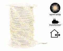 Kaemingk Lichterkette Sterne 180 Micro LED warmweiß 9m außen