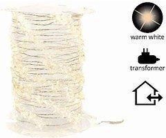 Kaemingk Lichterkette Sterne 240 Micro LED warmweiß 12m außen
