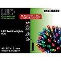 Kaemingk Lichterkette 96 LED bunt 7,1m außen schwarz - Thumbnail 2
