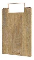 Kaemingk Schneidebrett Holz Griff kupferfarben 49 x 30cm