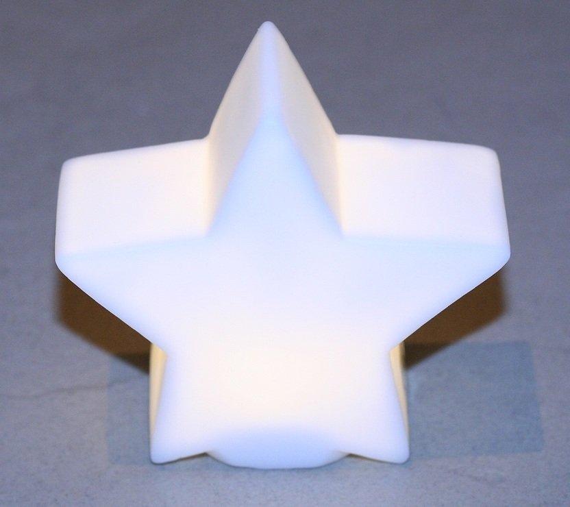 Edelman LED Leuchtstern warmweiß innen 9cm - Pic 1