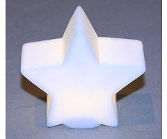Edelman LED Leuchtstern warmweiß innen 9cm