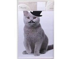 Kaemingk Wandaufkleber Katze Moustache 49 x 69cm