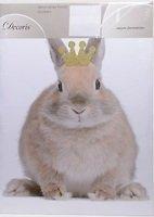 Kaemingk Wandaufkleber Kaninchen Glitter 49 x 69cm