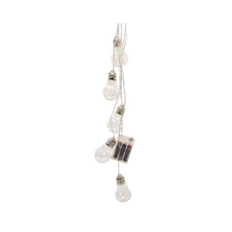 Kaemingk Lichtbündel 15 Micro LED in Leuchtbirnen 70cm Innen Batterie - Pic 1