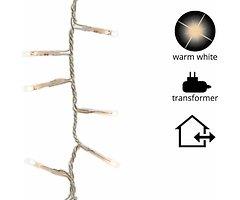 Kaemingk Lichterkette Compact mit Dimmer 350 LED warm weiß außen 7,5 m transparent