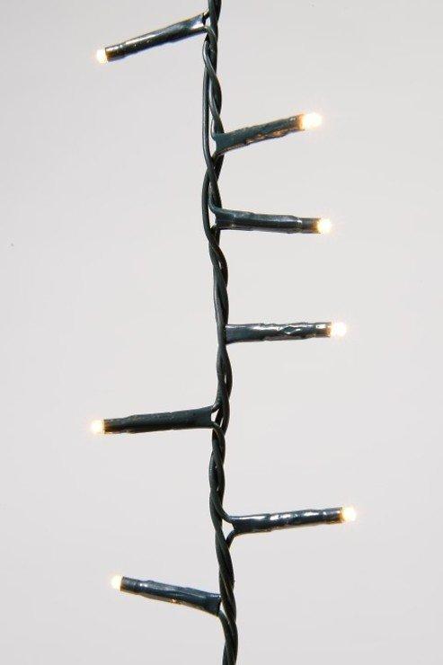 Kaemingk Lichterkette Rice Lights 500 LED warmweiß außen 11m grün - Pic 1