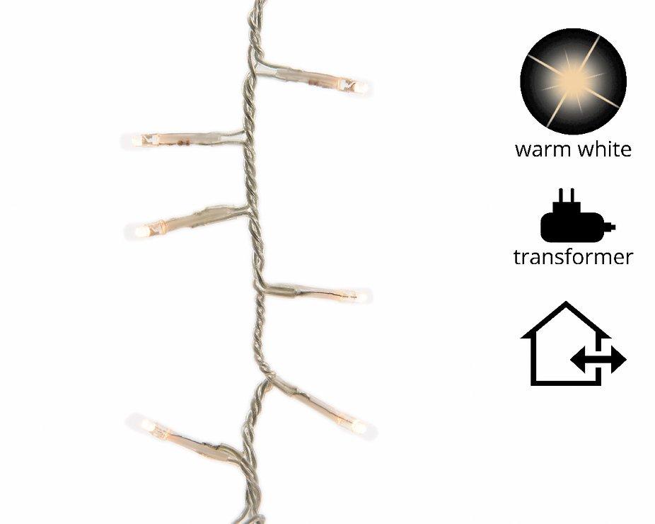 Kaemingk Lichterkette Rice Lights 1500 LED warmweiß außen 34m transparent - Pic 1