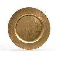 Kaemingk Dekoteller 33cm Kunststoff gold