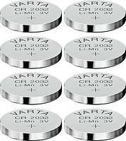 Varta Knopfbatterie Lithium CR 2032 3 Volt 8er Set