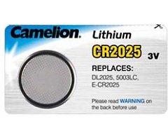 Knopfbatterie Lithium CR 2025 3 Volt