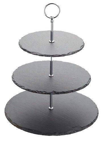 kitchencraft etagere artesa 3 st ckig schiefer kaufen. Black Bedroom Furniture Sets. Home Design Ideas