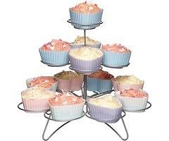KitchenCraft Cupcake Ständer für 13 cakes Draht