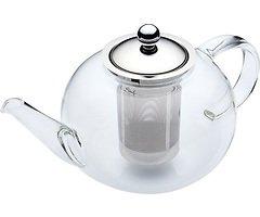 KitchenCraft Teekanne Le'Xpress 1,4 l Borosilikatglas