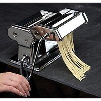 KitchenCraft Pasta Maschine 9 Nudelstärken mit Halteklammer