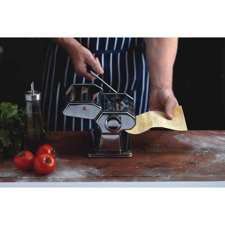 KitchenCraft Pasta Maschine 9 Nudelstärken mit Halteklammer - Pic 3