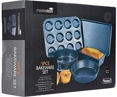 KitchenCraft Backformen Set 5-teilig antihaft