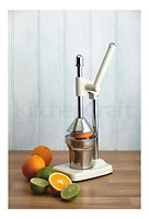 KitchenCraft Entsafter Living Nostalgia 36,5 cm Aluminium creme