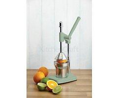 KitchenCraft Entsafter Living Nostalgia 36,5 cm Aluminium hellgrün