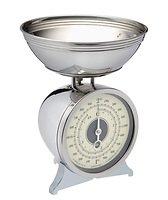 KitchenCraft Küchenwaage Classic Collection Metall 2 kg verchromt