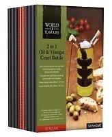 KitchenCraft Öl- und Essigflasche Italian 300ml / 100ml Glas