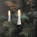 Konstsmide Lichterkette Baumkerzen weiß 16 LED Dioden 9m außen grün - Thumbnail 1