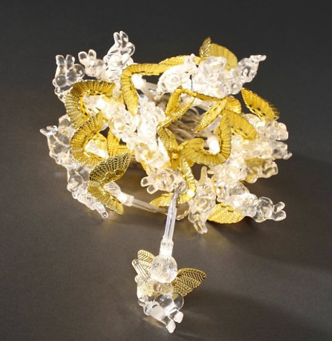 konstsmide lichterkette engel gold 24 led warmwei 2 3 m innen transparent kaufen. Black Bedroom Furniture Sets. Home Design Ideas