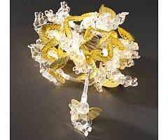 Konstsmide Lichterkette Engel gold 24 LED warmweiß 2,3 m innen transparent