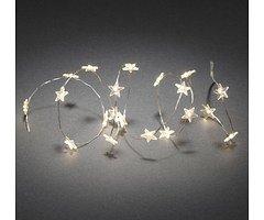 Konstsmide LED Lichterkette Sterne 1,03m 20 LED innen batteriebetrieben transparent
