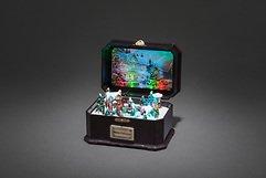 Konstsmide LED Spieluhr Kinder Animation/Musik 6 bunte LED batteriebetrieben innen