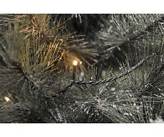 Konstsmide LED Lichterkette 400 LED bernsteinfarben außen 27,93m schwarz