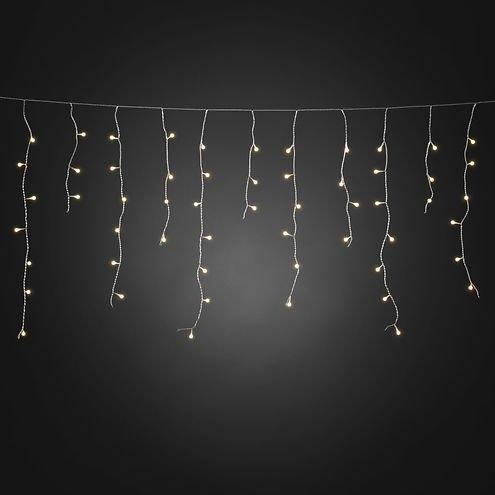 konstsmide led lichtervorhang eisregen 200 led warmwei au en 5 07m transparent kaufen. Black Bedroom Furniture Sets. Home Design Ideas