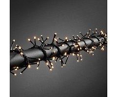 Konstsmide LED Büschellichterkette 240 LED  batteriebetrieben außen 3m schwarz