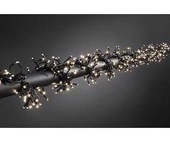 Konstsmide LED Büschellichterkette 580 LED 8 Funktionen außen 3m schwarz